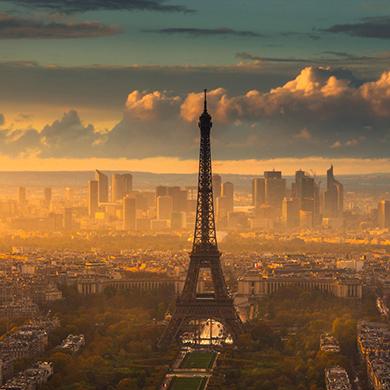 上海到法国