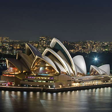 上海到澳大利亚