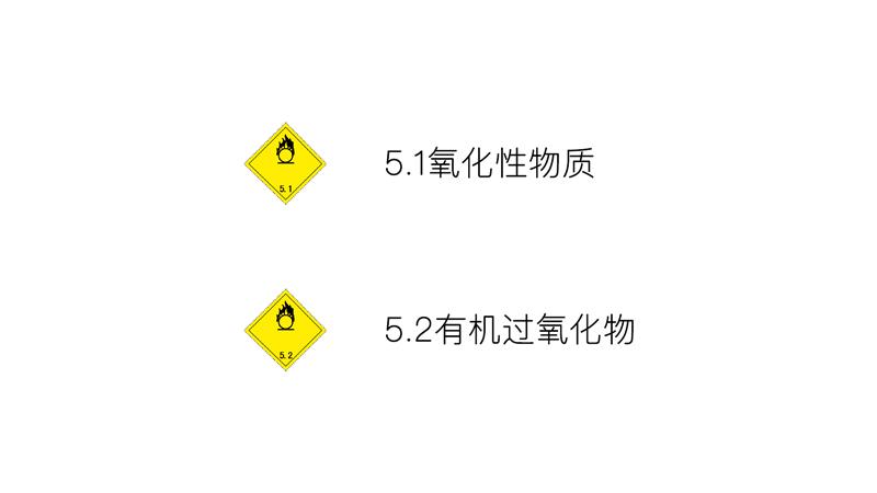 五类-氧化性物质和有机过氧化物